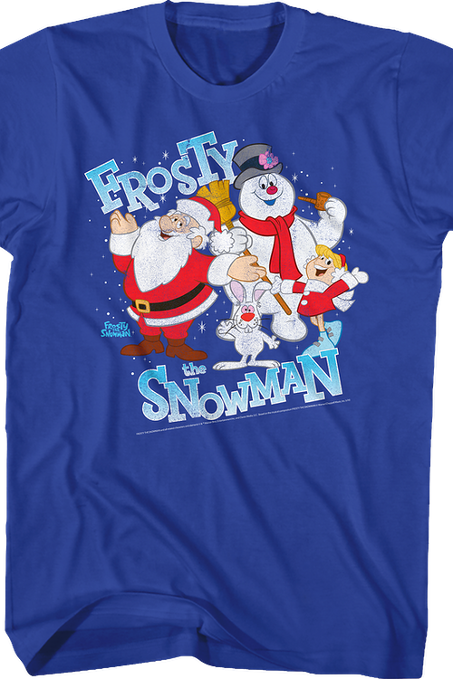 Cast Frosty The Snowman T-Shirt