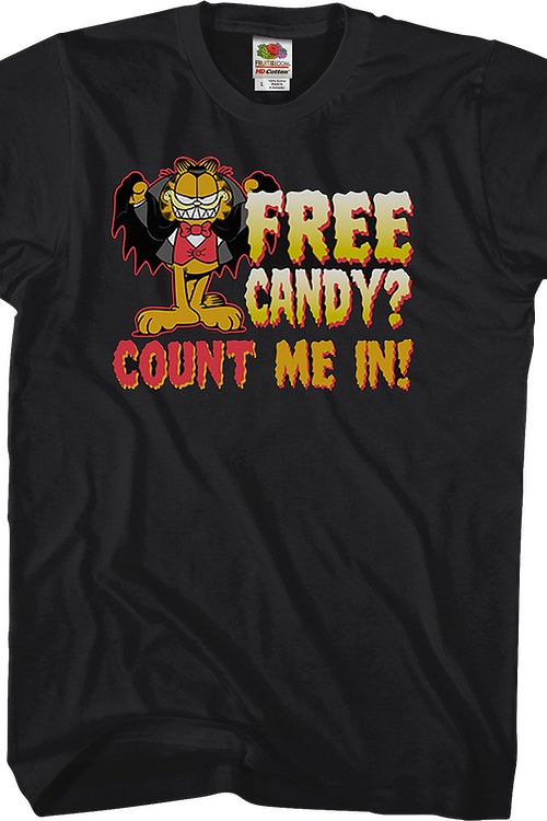 Count Me In Garfield T-Shirt