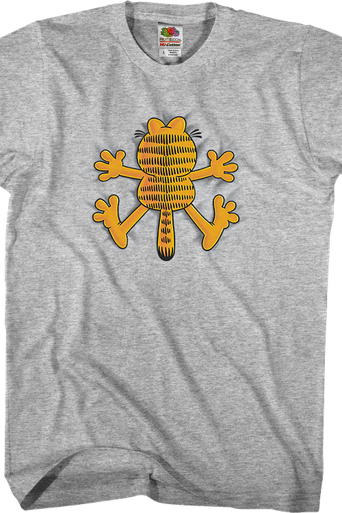 Crash Garfield T-Shirt