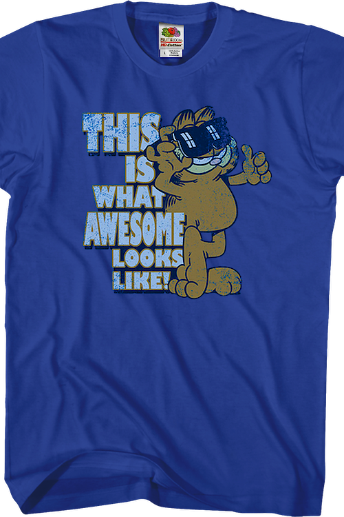 This Is What Awesome Looks Like Garfield T-Shirt