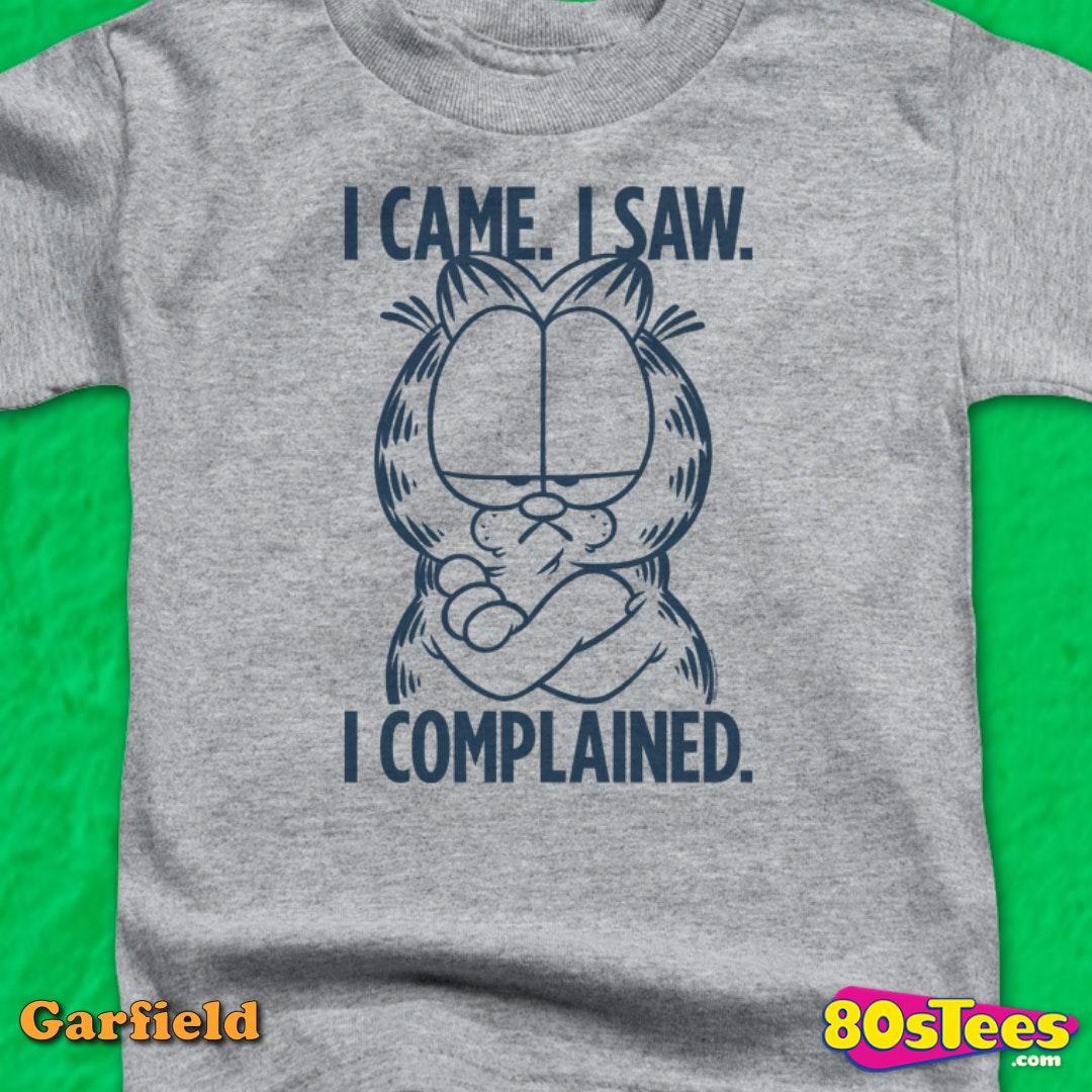 GARFIELD NAUGHTY CHRISTMAS Toddler Kids Graphic Tee Shirt 2T 3T 4T 4 5-6 7