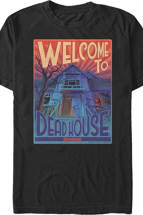 Welcome To Dead House Goosebumps T-Shirt
