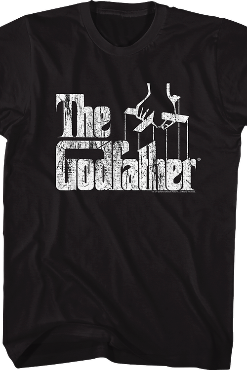 7aaf7c71 Distressed The Godfather T-Shirt: The Godfather Mens T-shirt