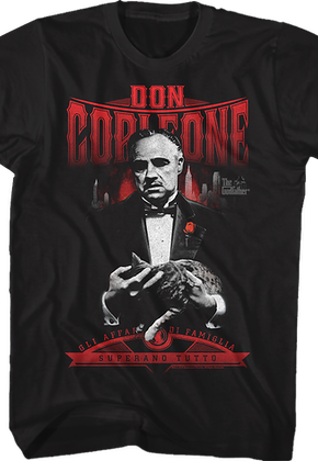 Don Corleone Godfather T-Shirt