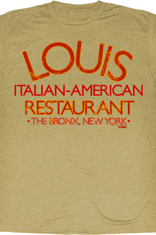 Louis Restaurant Godfather T-Shirt