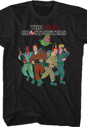 Cast Real Ghostbusters T-Shirt