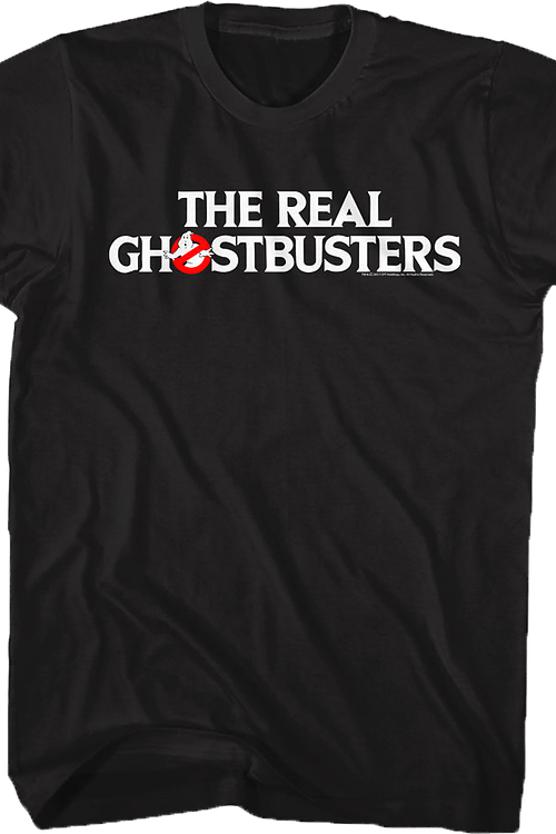 Logo Real Ghostbusters T-Shirt