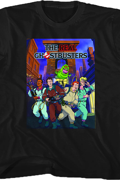 Poster Real Ghostbusters T-Shirt