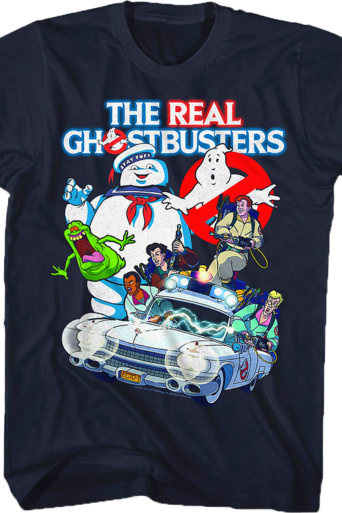 Collage Real Ghostbusters T-Shirt