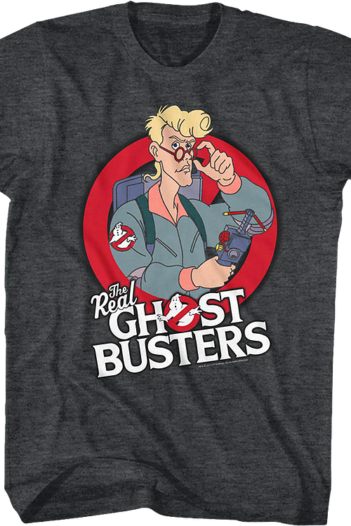 Real Ghostbusters Egon T-Shirt