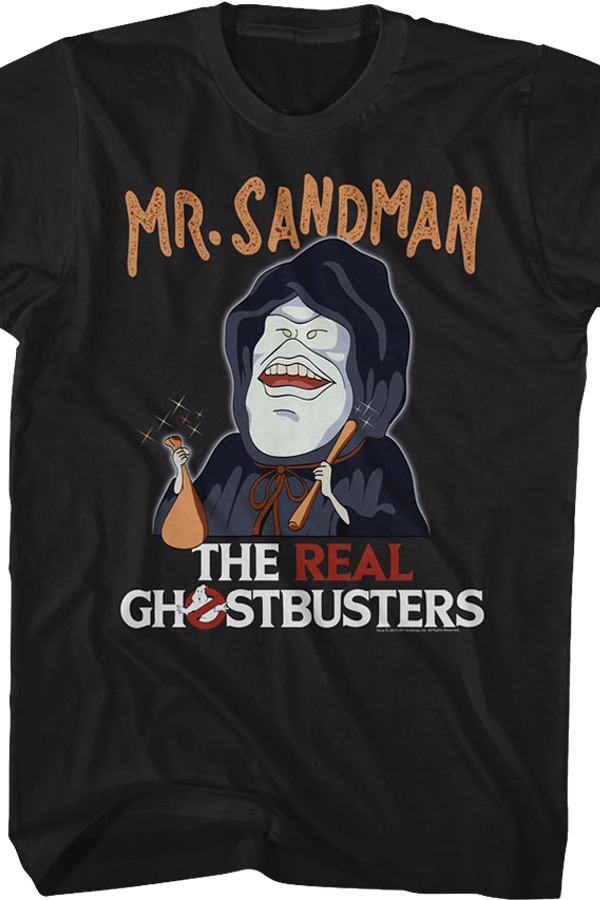 Mr. Sandman Real Ghostbusters T-Shirt