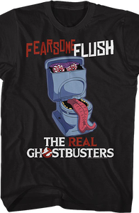 Fearsome Flush Real Ghostbusters T-Shirt