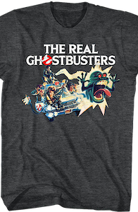 Toy Poster Artwork Real Ghostbusters T-Shirt