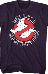 No Ghost Logo Real Ghostbusters Shirt