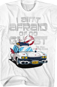 Ecto-1 Real Ghostbusters T-Shirt