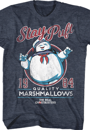 Stay Puft Real Ghostbusters T-Shirt