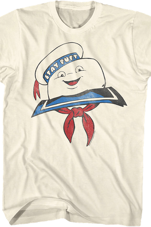 Stay Puft Marshmallow Man Real Ghostbusters T-Shirt