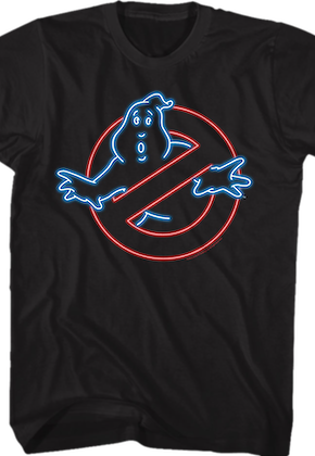 Neon Logo Real Ghostbusters T-Shirt