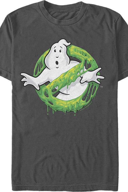 Slime Logo Ghostbusters T-Shirt
