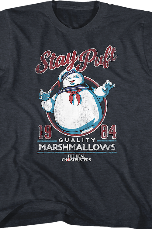Youth Stay Puft Real Ghostbusters Shirt