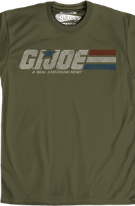 Distressed Army Green GI Joe T-Shirt