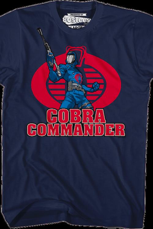 51c230478f540b Cobra Commander T-Shirt  80s Cartoons GI JOE T-shirt