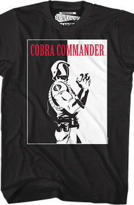Scarface Cobra Commander Shirt