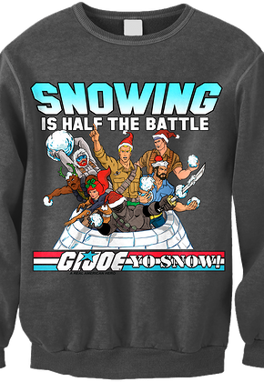 GI Joe Faux Ugly Christmas Sweater
