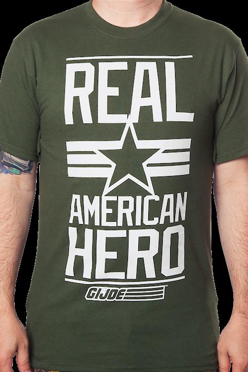 0b1a3ded G. I. Joe Real American Hero T-Shirt: GI Joe Mens T-Shirt