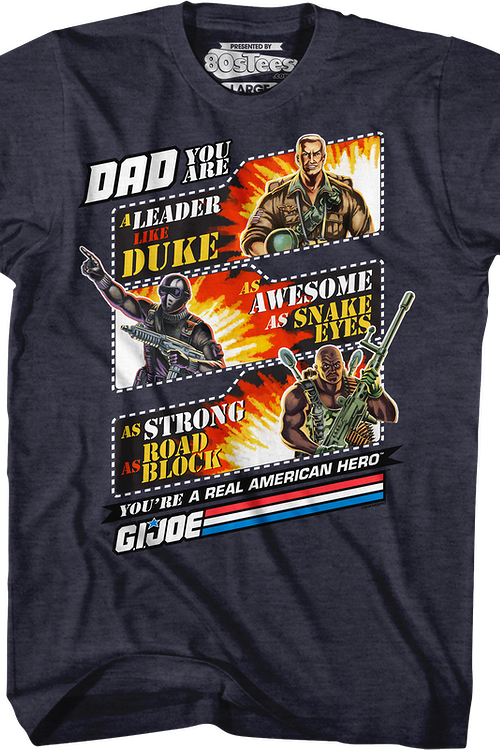 66b40d9e GI Joe Father's Day T-Shirt: GI Joe Mens T-Shirt