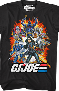Cobra The Enemy Group GI Joe T-Shirt