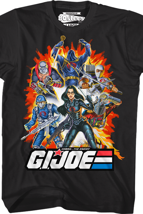 2fcfdd86 Cobra The Enemy Group GI Joe T-Shirt: GI Joe Mens T-Shirt