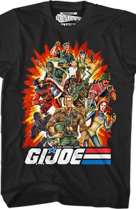 Real American Heroes Group GI Joe T-Shirt
