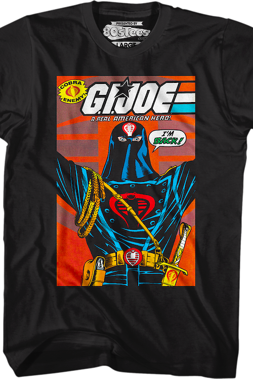 Cobra Commander Seeds Of Empire Cover GI Joe T-Shirt