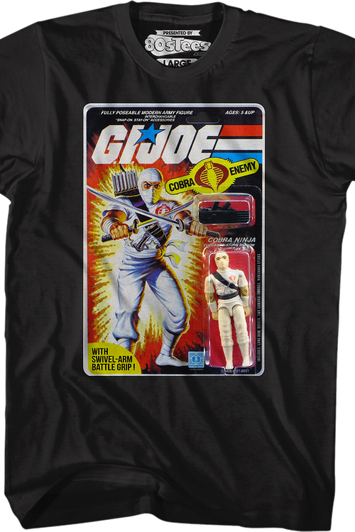 Storm Shadow Action Figure GI Joe T-Shirt
