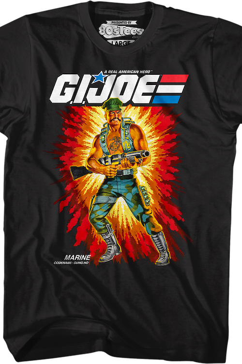 Box Art Gung Ho GI Joe T-Shirt
