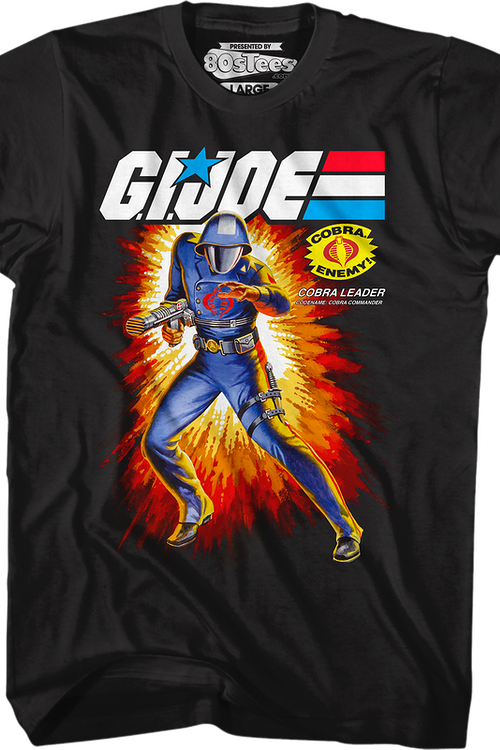 Box Art Cobra Commander GI Joe T-Shirt