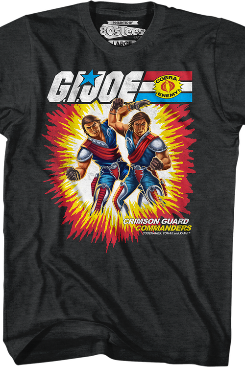 Box Art Tomax and Xamot GI Joe T-Shirt