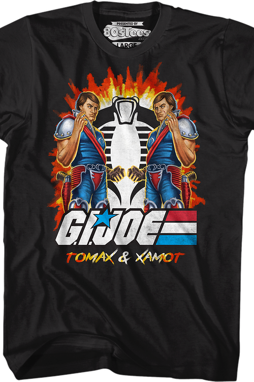 Tomax and Xamot GI Joe T-Shirt