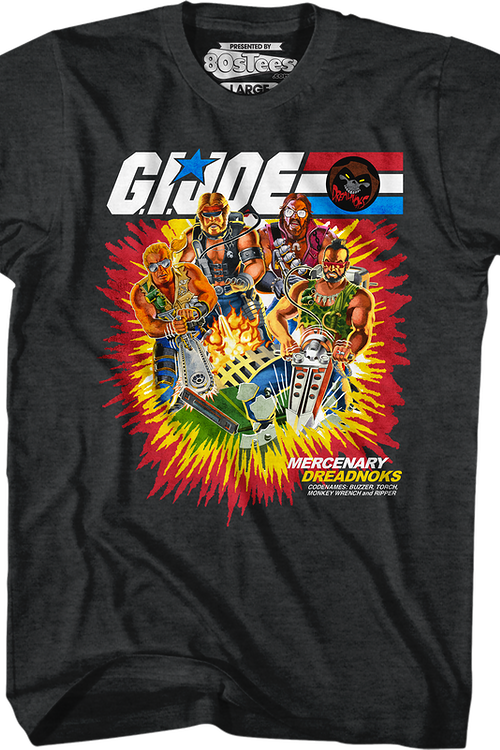 Box Art Dreadnoks GI Joe T-Shirt
