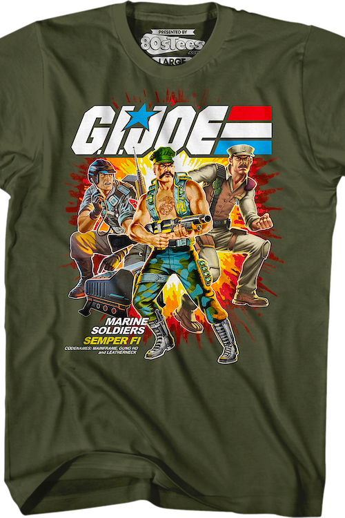 Marine Soldiers GI Joe T-Shirt