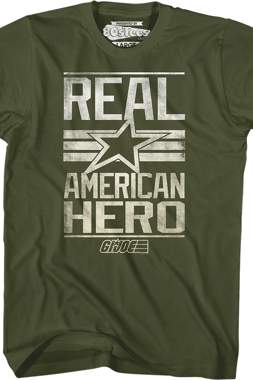 Real American Hero GI Joe Shirt