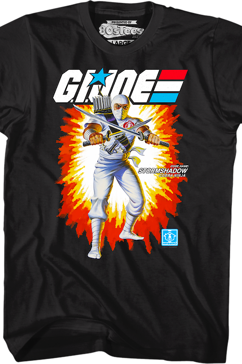 Box Art Storm Shadow GI Joe T-Shirt