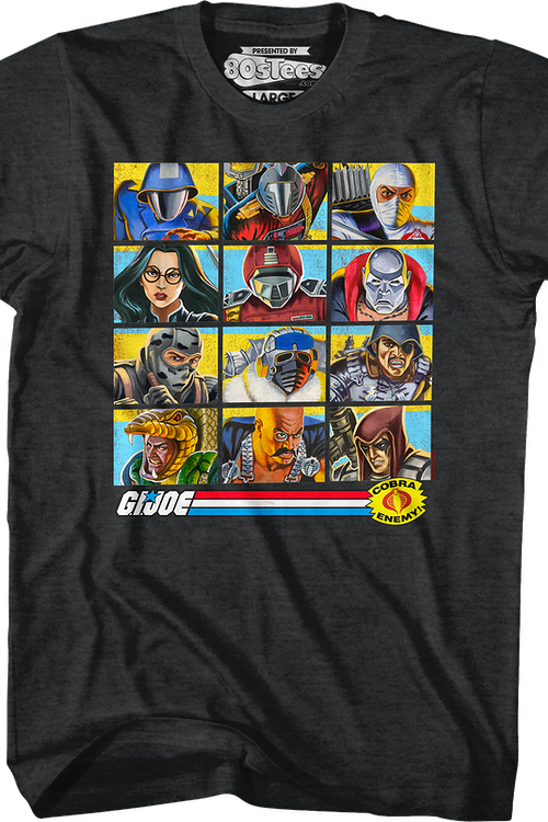 Cobra Organization's Dirty Dozen GI Joe T-Shirt