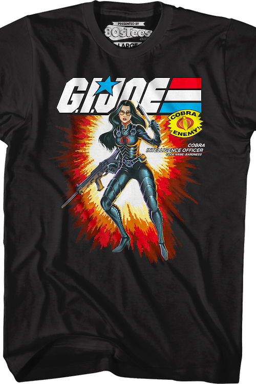 Box Art Baroness GI Joe T-Shirt