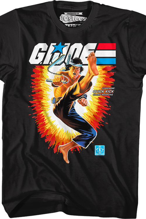 Box Art Quick Kick GI Joe T-Shirt