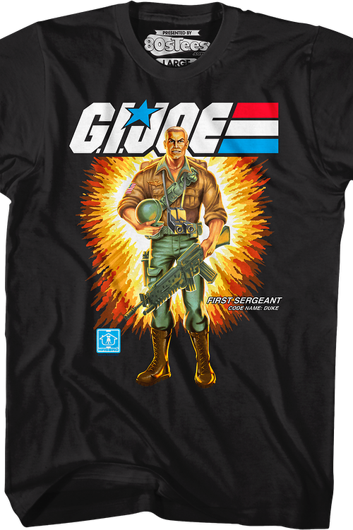Box Art Duke GI Joe T-Shirt