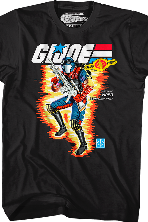 Box Art Viper GI Joe T-Shirt
