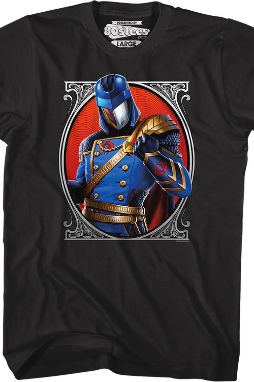 Cobra Commander Classic Pose GI Joe T-Shirt