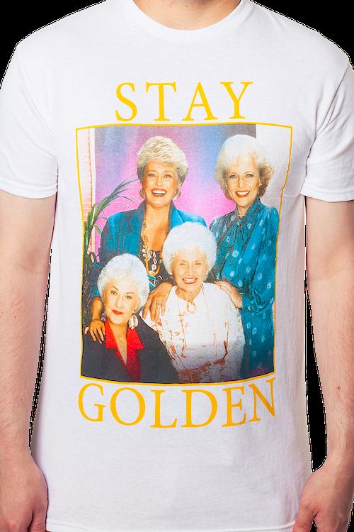 5da9fd7a3 Golden Girls Stay Golden T-Shirt: Golden Girls Mens T-Shirt